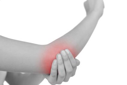 交通事故の腕の怪我