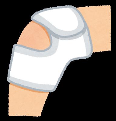 交通事故による脚の痛み
