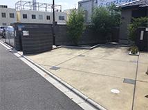 西京極院の駐車場1